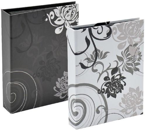1 Insteekalbum Zwart of Wit 10*15 cm. voor 36 st Insteekalbum 36