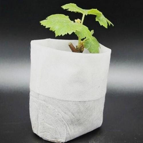 Biologischafbreekbare opkweekzakjes 8*10cm. Pak100 Biologisch afbreekbaar