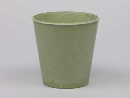 Bloemenpot Bloemenvaas Poeder soft green 10, 5cm. Bloemenvaas pot