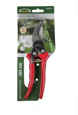 Snoeitang Groen , rood of zwart 21cm. Snoeitang snoeischaar