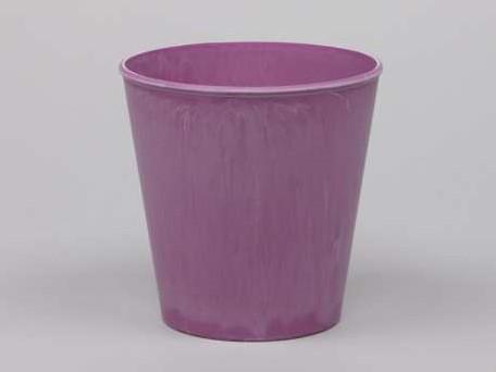 Actie Bloemenpot Bloemenvaas Poeder soft roze 10, 5cm. Bloemenvaas pot