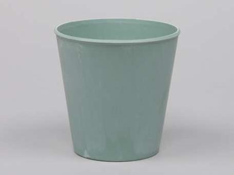 Actie Bloemenpot Bloemenvaas Poeder soft Turquoise 10, 5cm. Bloemenvaas pot