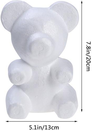 Styropor beer Stef 20 cm , Met lichte schade van E 5.99 voor E 3.99