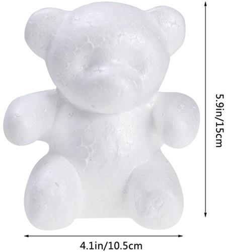 Styropor beer Phil 15 cm , met lichte schade van E 3.50 voor E 2.50