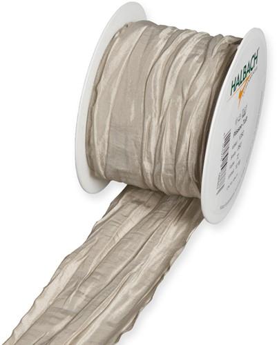 Plissee taftband 6 cm. / rol 10 m - naturel Pearl 72 Plissee taftband