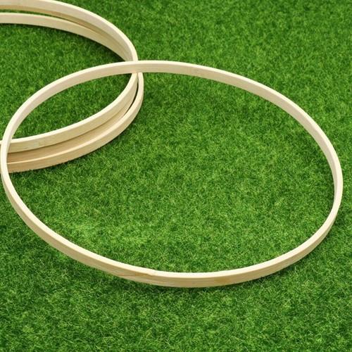 Bamboe ring enkel Flowerhoop 26 cm Bamboo bloemenring