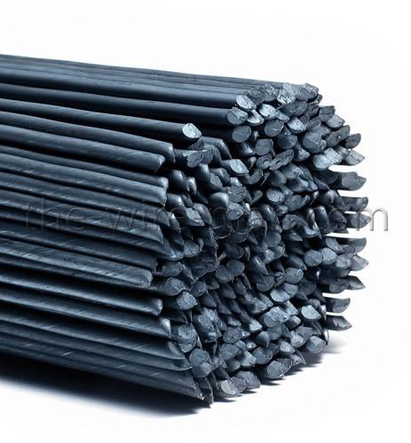 Steekdraad zwart 0.6  2.5 kg voordeelpak 35 cm