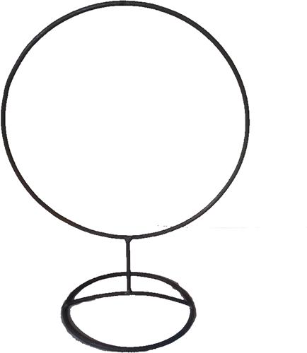Frame Zwaar Ring op Voet R.40 diameter Krans van ijzer