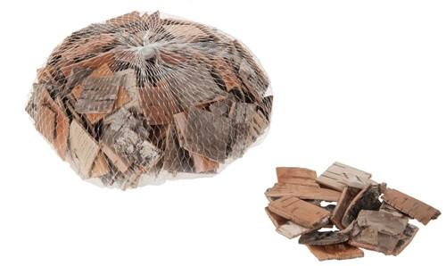 Berkenschors berken stukjes bark chips NATUREL 200 gr Berkenschors stukjes