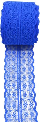 Budget Lint Kant Kobaltblauw +/-45mm 10 meter Koningsblauw 45 mm
