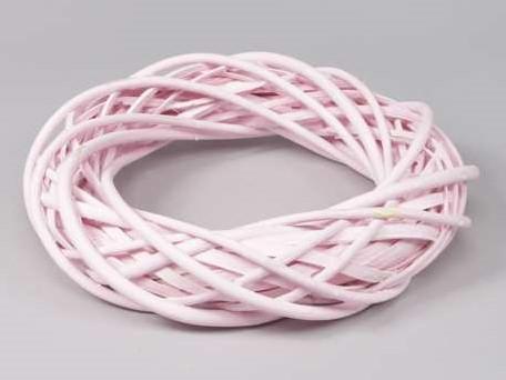 Krans wilgentenen 30 cm. Roze Krans wilgentenen