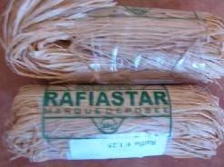 Raffia bosje 50 gram. Naturel voor bloemschikken Raffia bosje 50