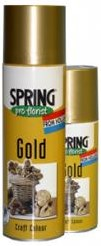 Spring Pro florist Goud Spray 150 cc Goudspray