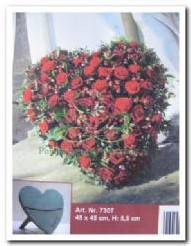 Oasis Bioline deco heart mini 45 cm.