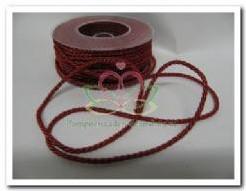 Lint Twistd. rood- koord 4 mm / meter Lint Twist d. r