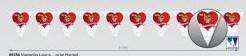 'Vlaggenlijn ''''Love is to be Married'''' 6 m' 'Vlaggenlijn ''''L'