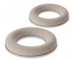 Droogschuim ring 15 cm.  Met kunststof ring