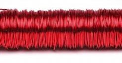 Lakdraad 100 gram. rood Lakdraad 100 gr