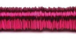 Lakdraad 100 gram. Fuchsia pink Lakdraad 100 gr