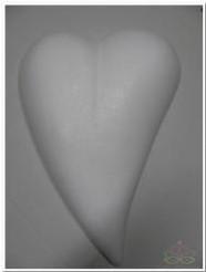 Styropor Hart druppel 30 cm. plat! Styropor Hart