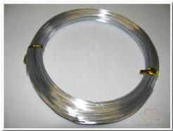 Aluminiumdraad 1 mm zilver 60m Aluminiumdraad