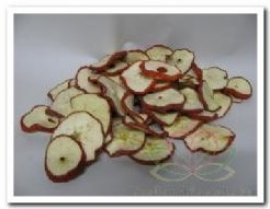 Appelschijfjes rood +/- 200-250 gr Appelschijfjes