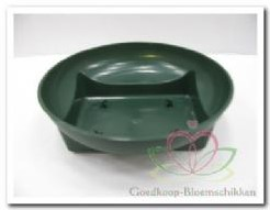 Oasis Square round Bowl green Spotgoedkoop