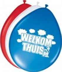 Ballon 30cm. Welkom Thuis 8st Ballon 30cm. Wel