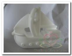 Styropor Schip / zeilboot 17x15, 5 cm. Styropor Schip