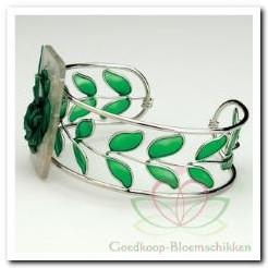 Corsage Polscorsage-armband Green Meadow Corsage Polscor