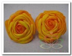 foam rose Geel 5*4 cm. /6 stuks foam rose Geel