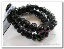 Corsage Polscorsage-armband Ruffles Black Corsage Polscor