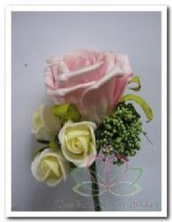 Corsage Roos Softrose CPR113 Corsage Roos S