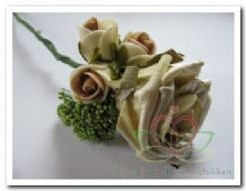 Corsage Roos Sand Antique CPR107 Corsage Roos S