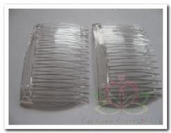 Haarkammetje Acryl voor haarcorsage / 2st Acryl haarkamme