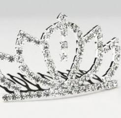 Tiara Queen VictoriaHaarkam 5 cm. Tiara Queen Vic
