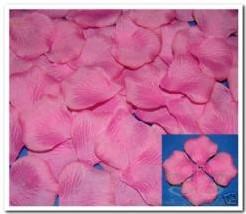 Blad zijde blaadjes Deep Pink rozenblaadjes pakje Blad zijde blaadjes Fuchs