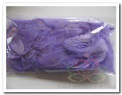 Veertjes lila lavendel 5-10 cm. +/- 5 gr Veertjes lila l