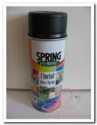 Spring pro Florist Soft Black Deco Spray 400cc Bloemen verfspray