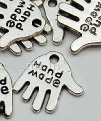 Hangertje ''Hand made'' / stuk' 'Hangertje ''Hand made''