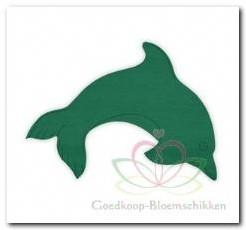 Dolfijn steekschuimvorm