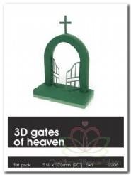 Poort naar de Hemel Steekschuimvorm 3D