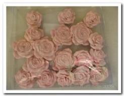 Bloemen polyresin doosje18 rose Bloemen polyres