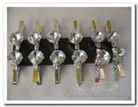 Diamantje Strass op knijpertje / pakje Diamantje Stras