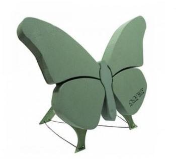 Oasis Mini Krans 42 cm. Met staander OASIS® BIOLINE® Steekschuim Vlinder 56 x 40 x 6 cm