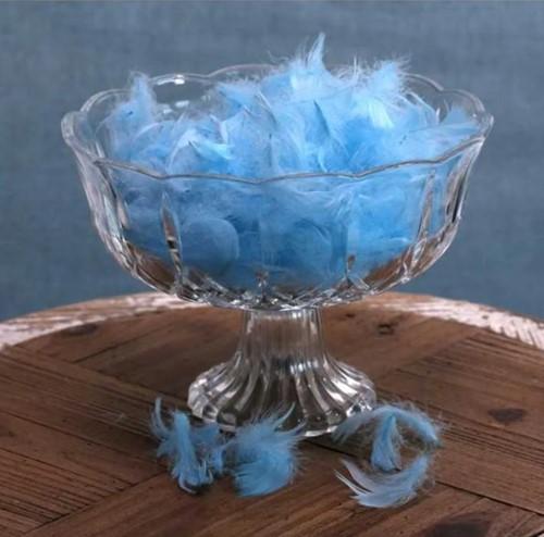 Veertjes Fluffy Babyblauw 5 gram Veren veertjes