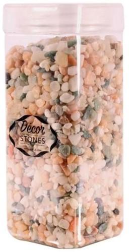 Pebble Naturel stones 4-6mm 750-800gr Pot mooie steentjes