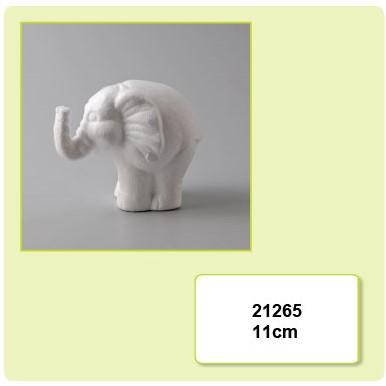 Styropor olifant 11cm. Styropor olifant 11cm.