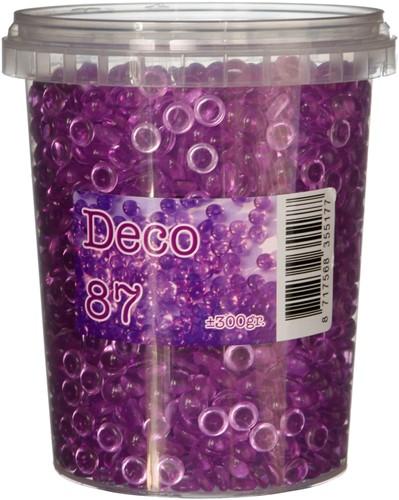 Kristal Deco Purple300 gr steentjes