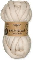 Strickschlauch Knitted tube Creme 70 voor dik knoop en vlechtwerk